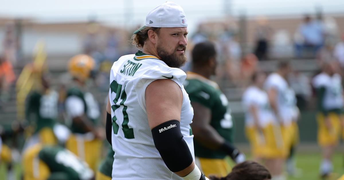 Less is more for Josh Sitton this offseason