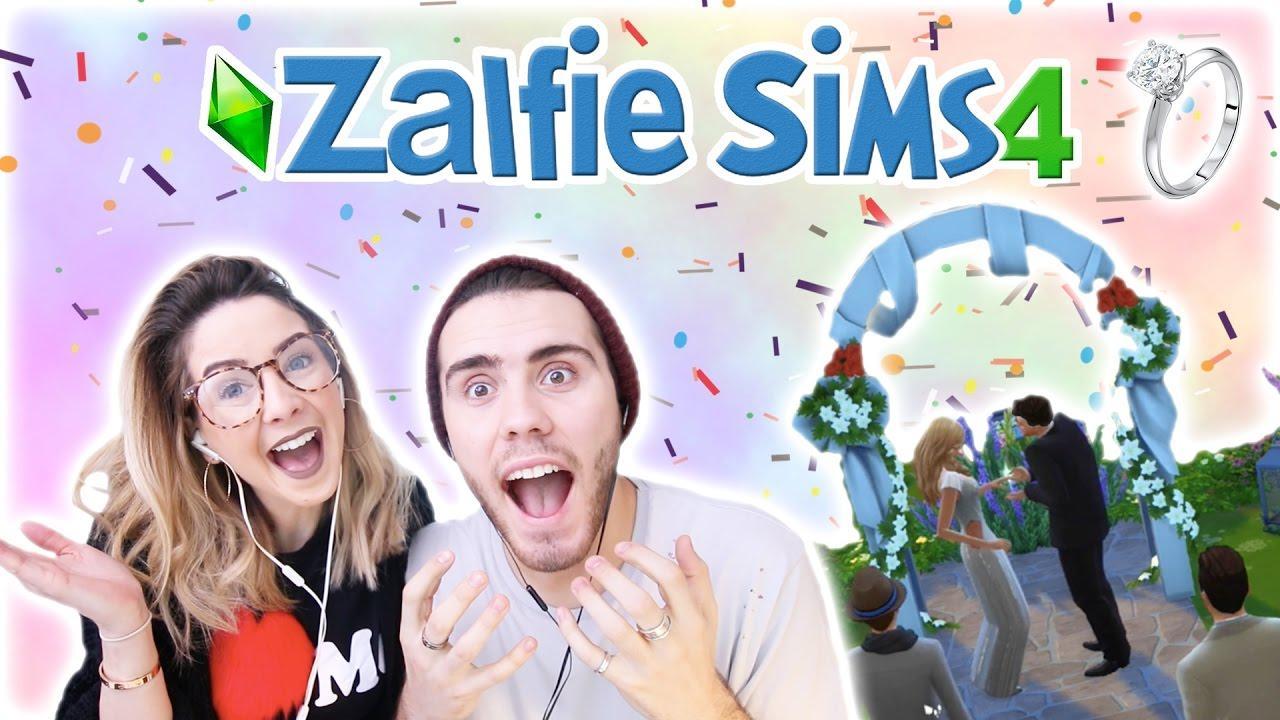 Zalfie Wedding Day | Zalfie Sims 4 Edition