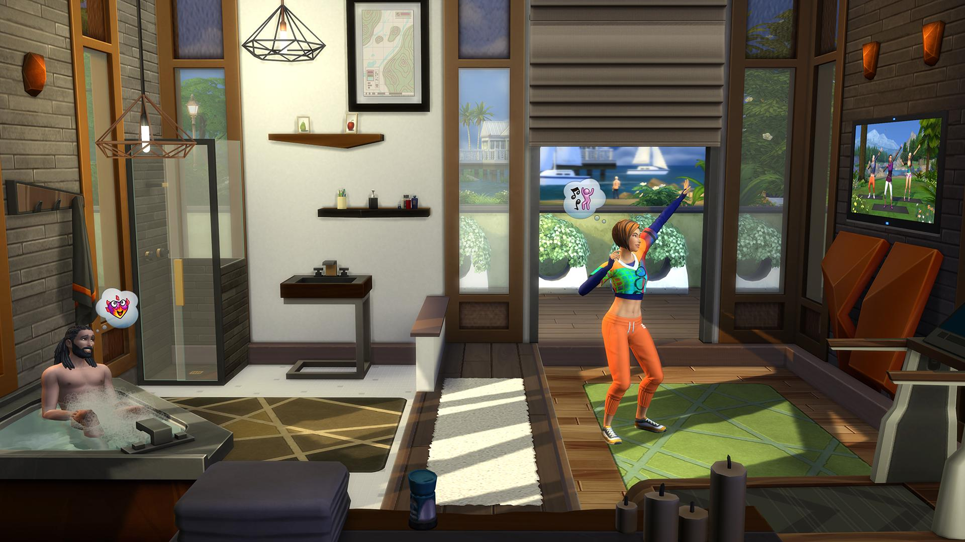 Get Fit with The Sims 4 Fitness Stuff Pack!
