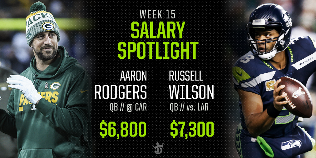 Fantasy Football: DraftKings Week 15 Player Pricing Early Outlook