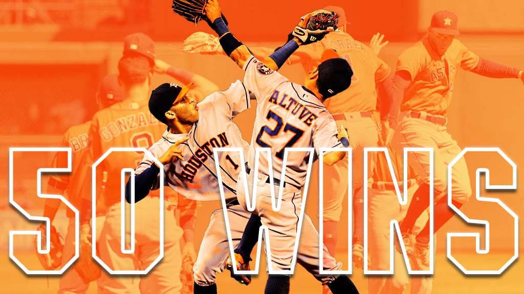 4th-fastest team to 50 wins this century in MLB