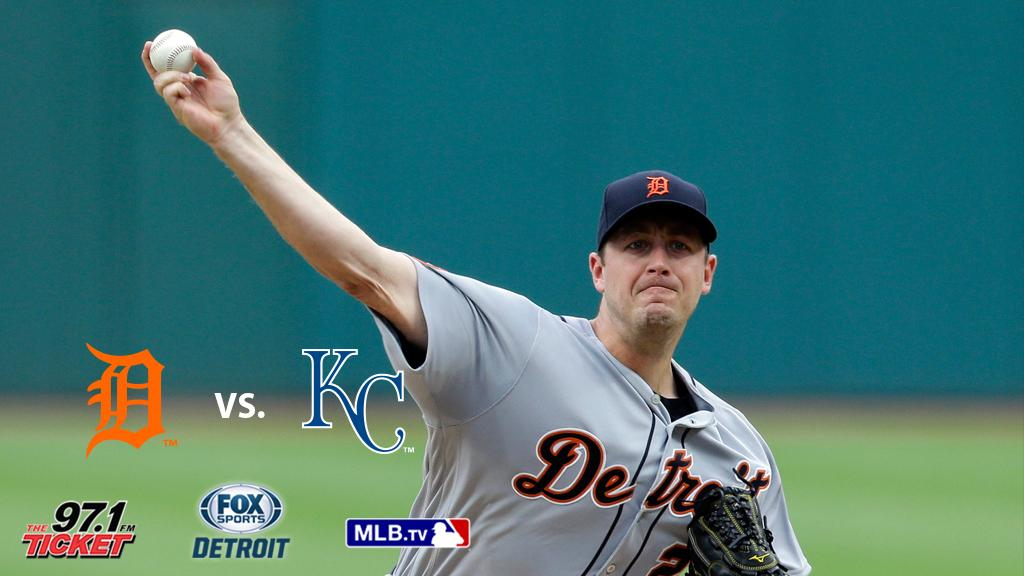 Tigers begin four-game series vs. Royals