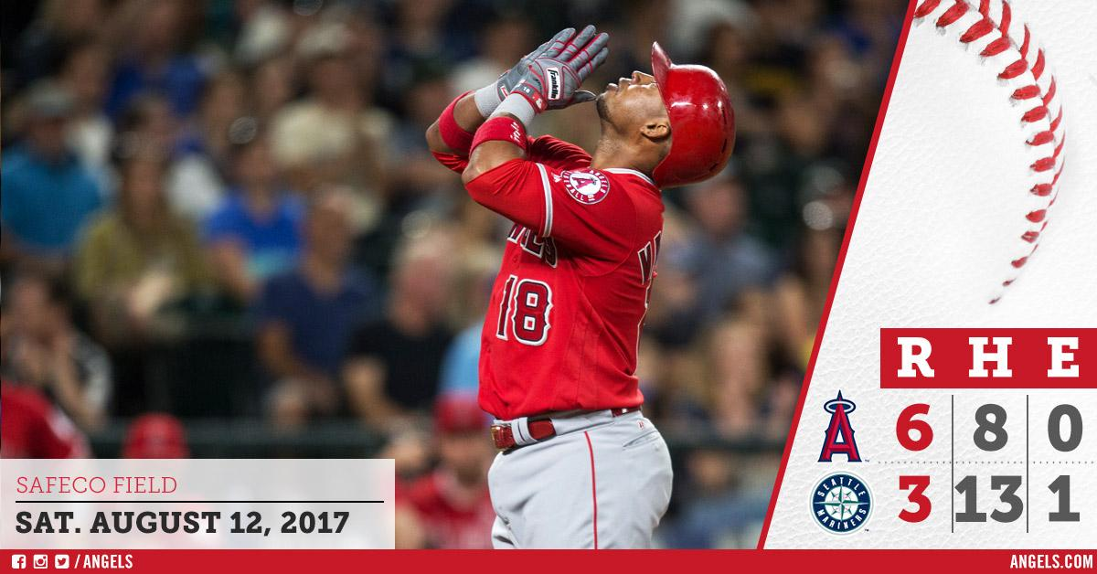 Angels take sole possession of 2nd wild card spot