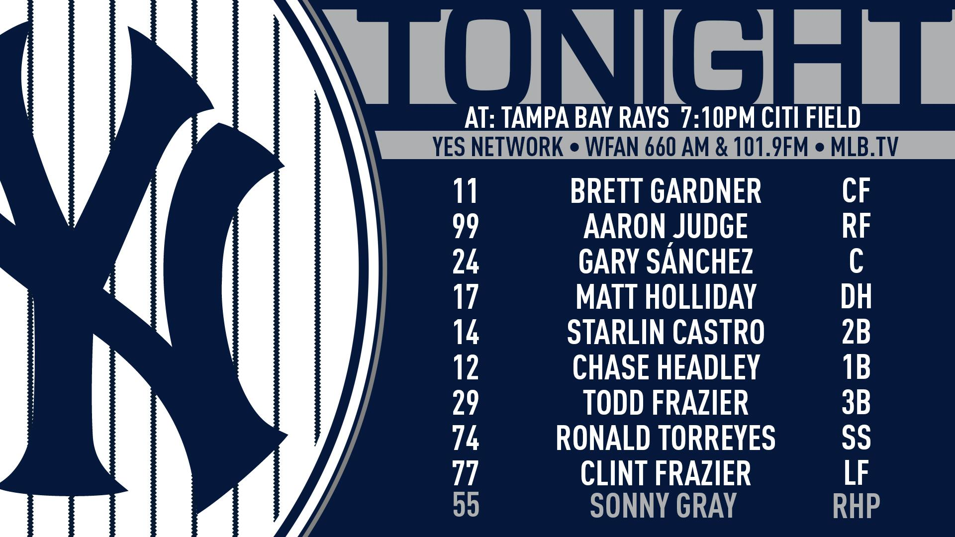 Yankees aim for fourth straight victory.