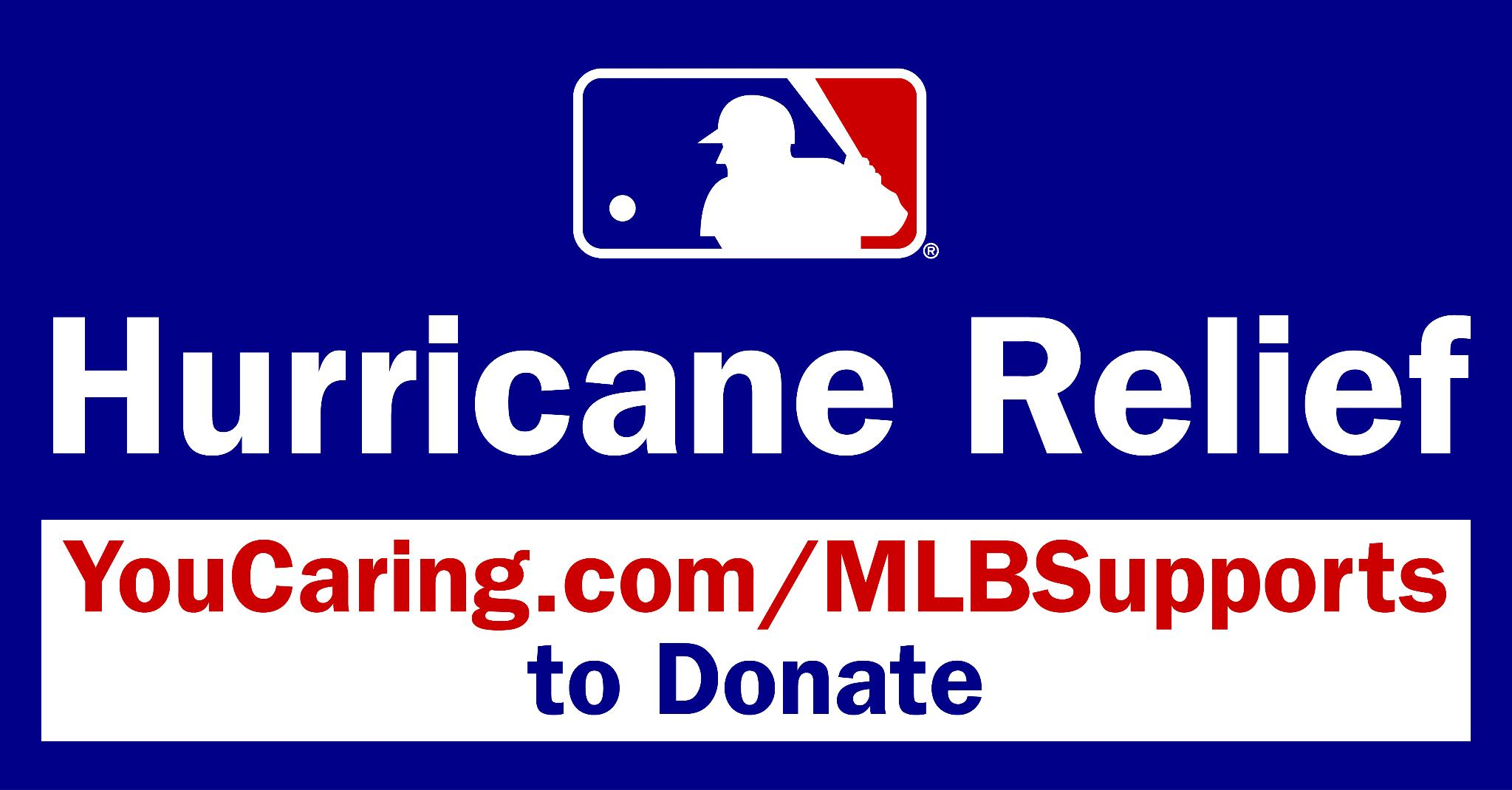 Click here to support Tampa Bay Rays Hurricane Irma Relief Fund
