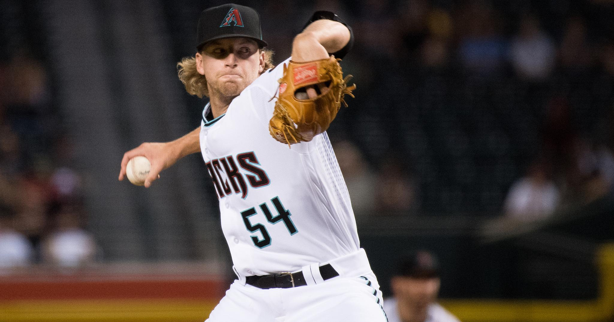 Jimmie Sherfy making most of callup to D-backs