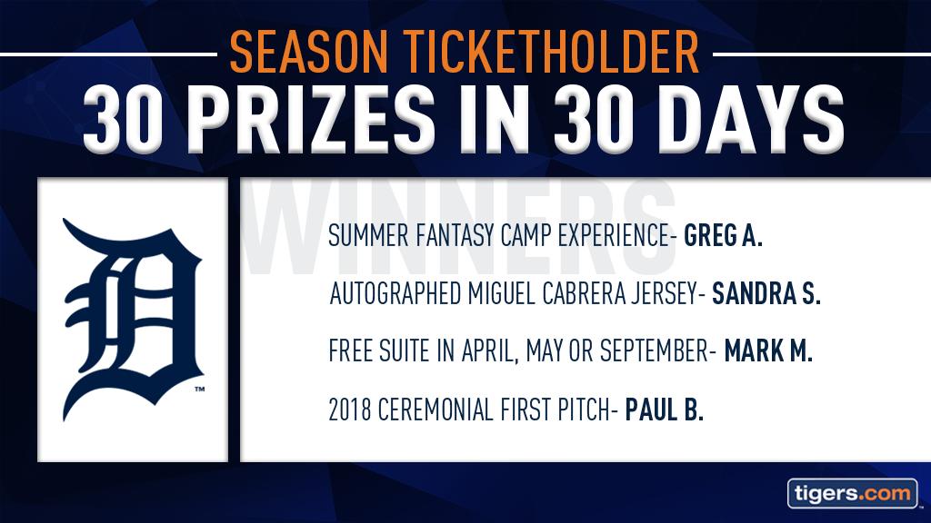 30 Prizes in 30 Days