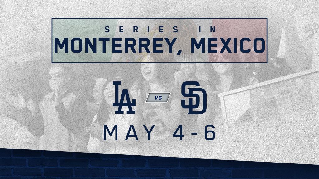 Padres Mexico Series: May 4-6