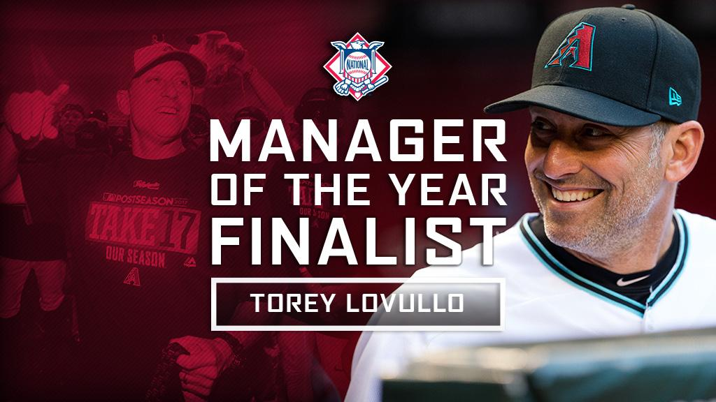 Torey Lovullo has case for NL Manager of Year
