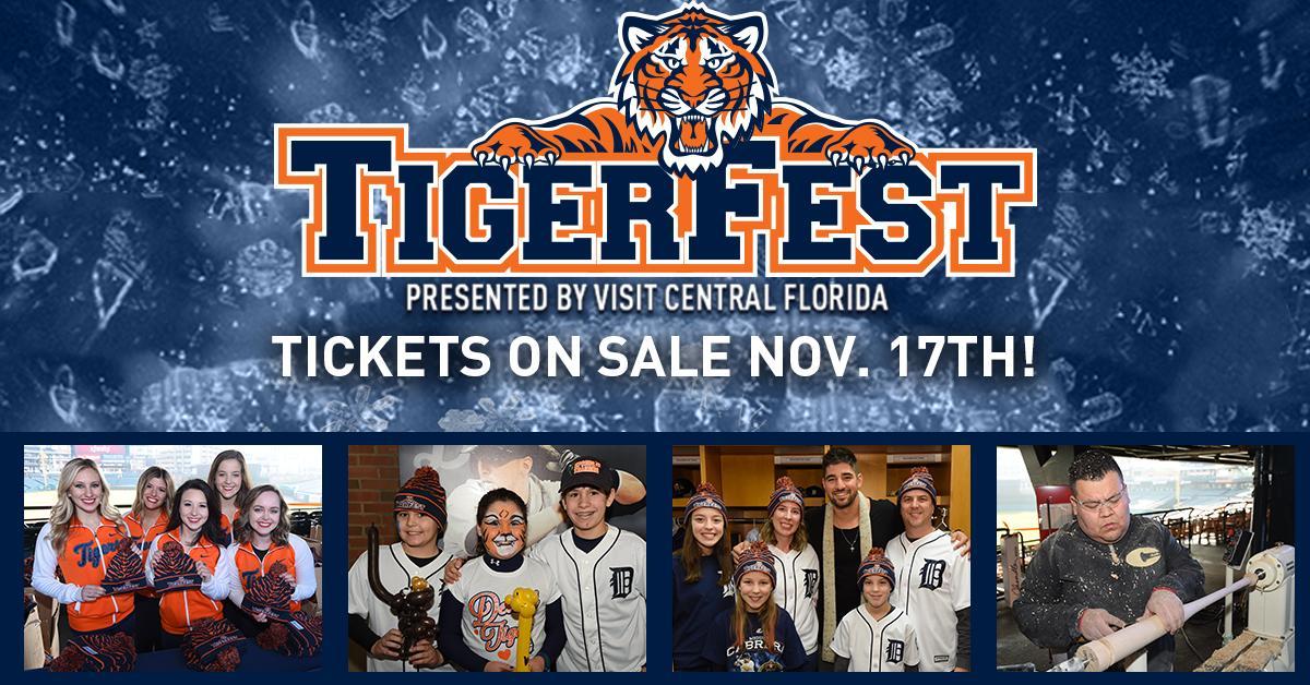 Don't miss TigerFest at Comerica Park