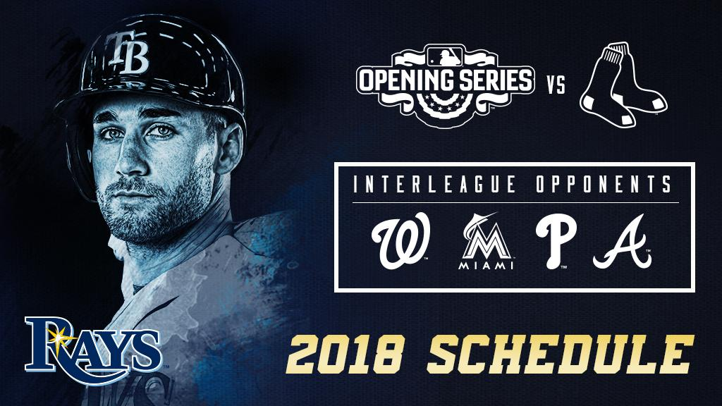 Rays Announce 2018 Game Times