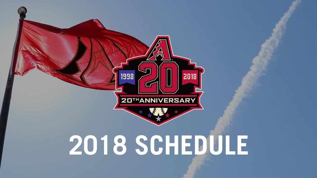 Arizona Diamondbacks Schedule