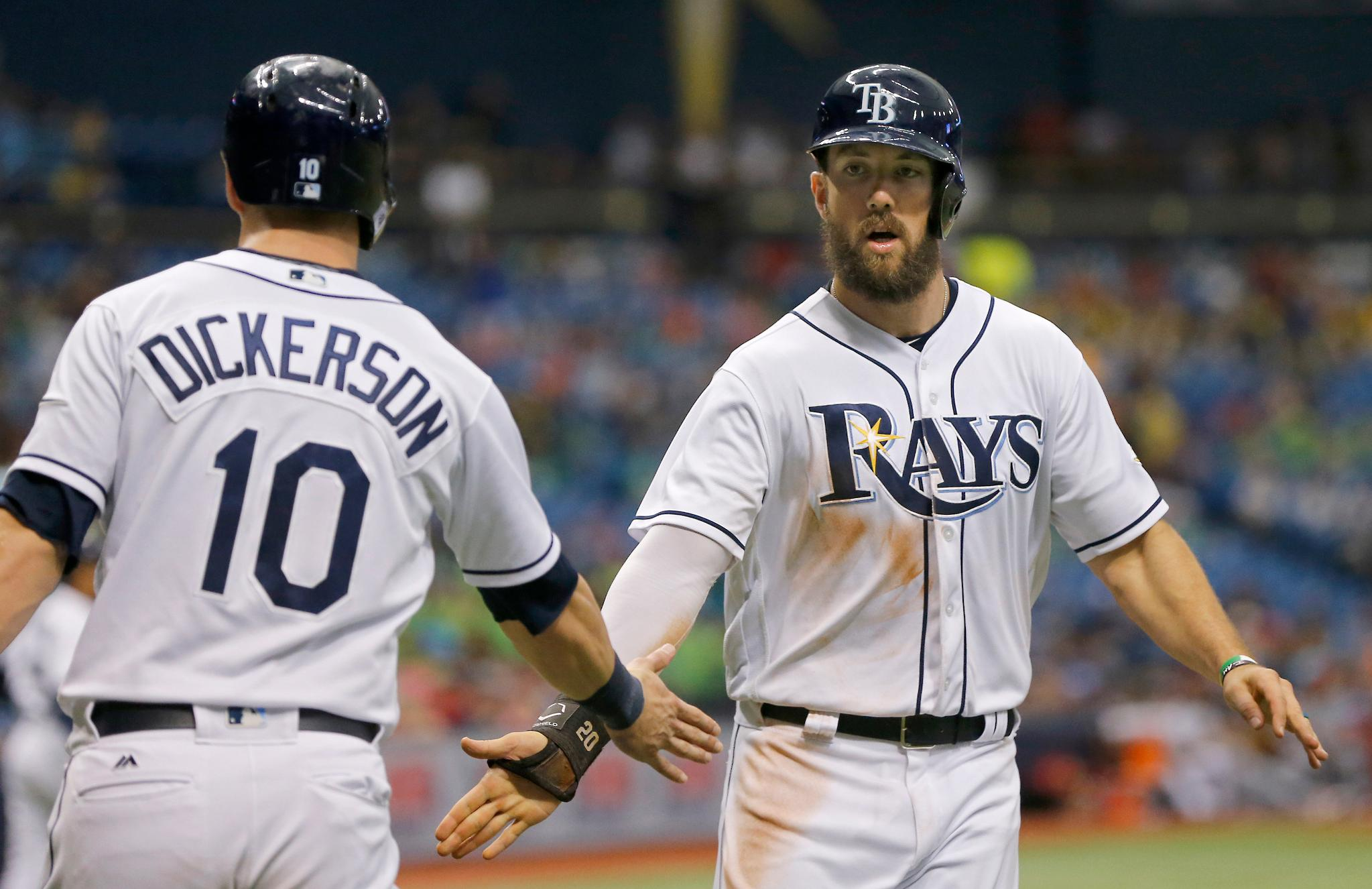 Rays agree to terms with seven players for 2018