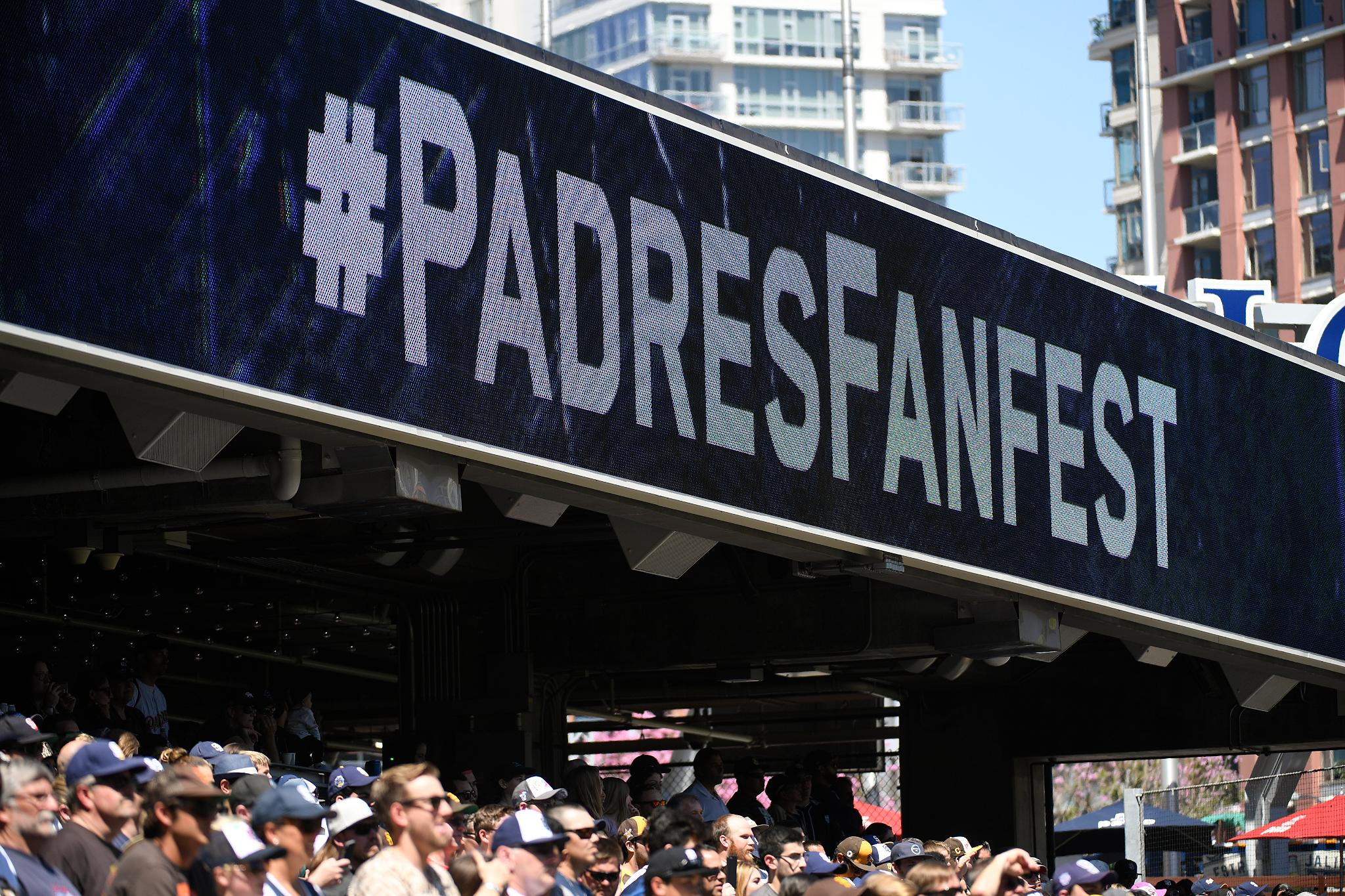 Padres FanFest offers close look at Petco Park