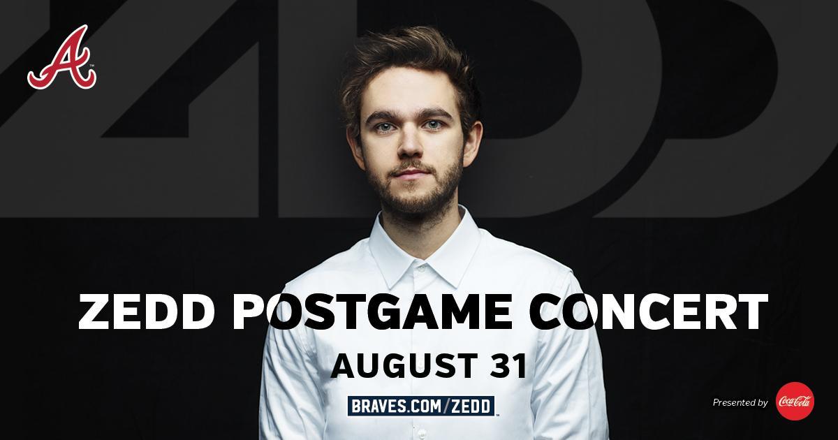 Zedd Postgame Concert at SunTrust Park