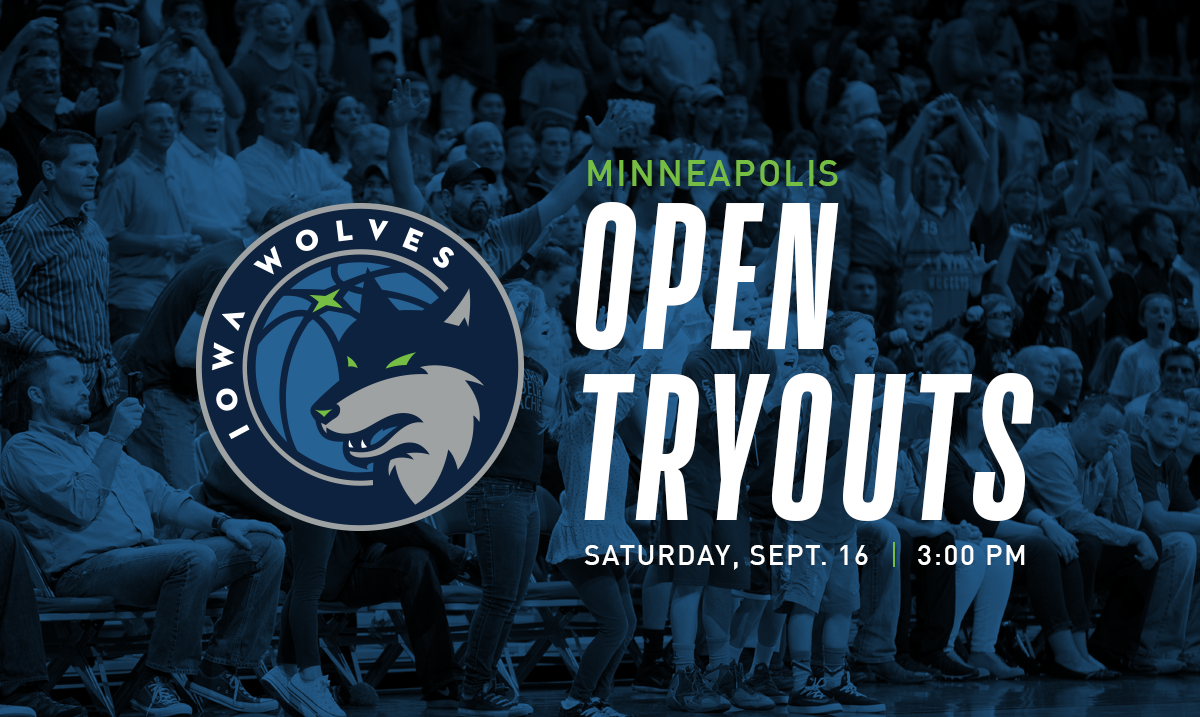 Iowa Wolves Player Tryouts