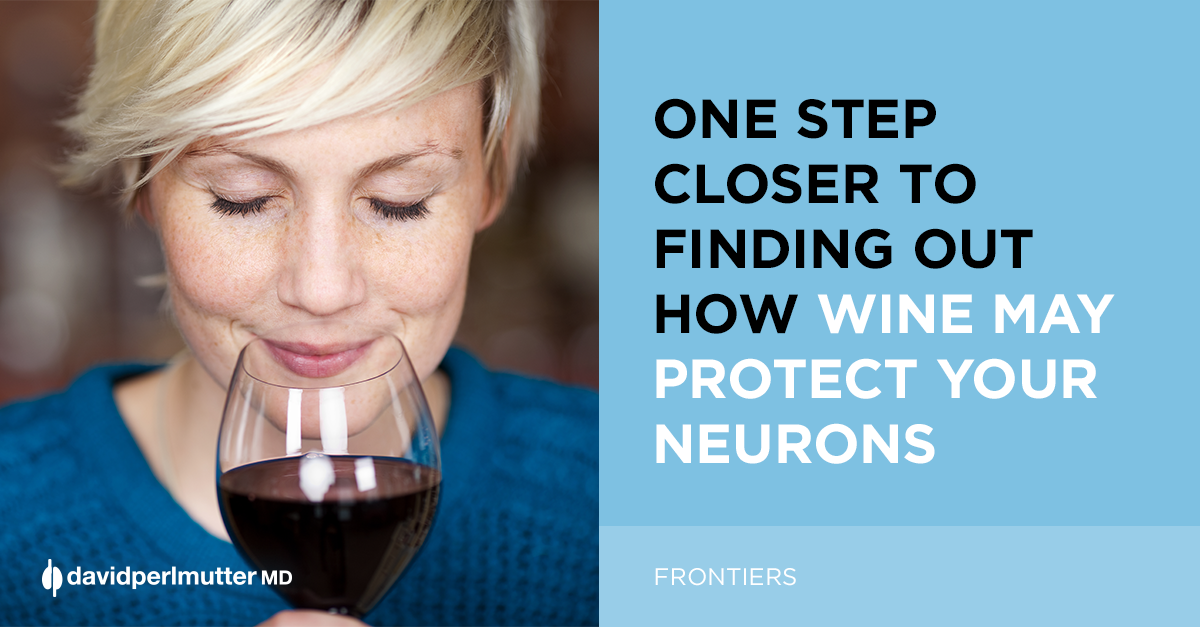 One step closer to finding out how wine may protect your neurons!