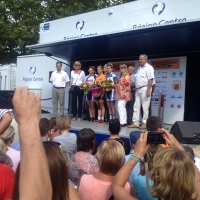 Evelyn Stevens moved into third place on the last day of the 2013 Route de France
