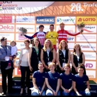 Geoffrey finished second at the Trofeo Karlsberg