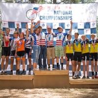 Junior Co-ed Team Podium