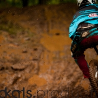 Mud and puddles wreaked havoc on suspension and drivetrain.