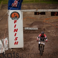 Neko Mulally qualified first on Saturday and held on to take the win.