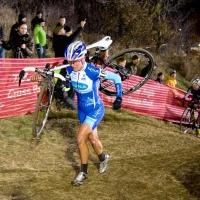 Katerina Nash on the climb