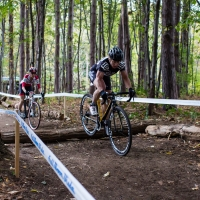 Maureen Bruno Roy and Laura van Gilder dueled all weekend and the woods were no exception on Sunday