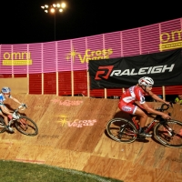 Meredith Miller rides the boards at CrossVegas