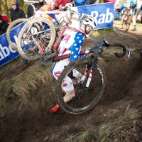 Logan Owen was the top American of the day in 14th in the U23 race.