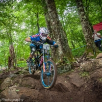 Kevin Aiello finished second at the Beech Mountain Pro GRT.