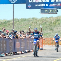 Katerina Nash wins the race and the overall series title at the US Cup Pro Series finale in Colorado Springs