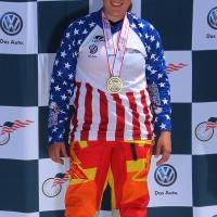 Shealen Reno stood atop the 2014 junior women