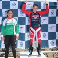 Shealen Reno topped the junior women