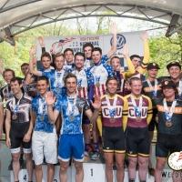 Men D2 TTT podium