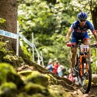 Lea Davison was 7th at the Val di Sole World Cup