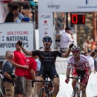 Ken Hanson took the win ahead of Brad Huff