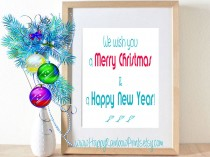 Merry Christmas andHappy New Year free download