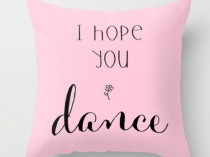dance pillow gift idea