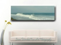 Panoramic Ocean Canvas