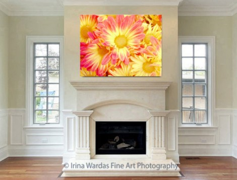 Flowers-on-Canvas