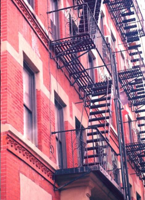 red brick architecture