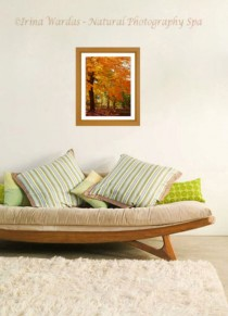 fall leaves interior decor