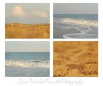 set of 4 ocean prints