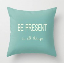 quote pillow