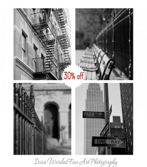 B&W Manhattan Wall Decor Ideas