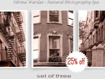 Manhattan brownstone wall decor