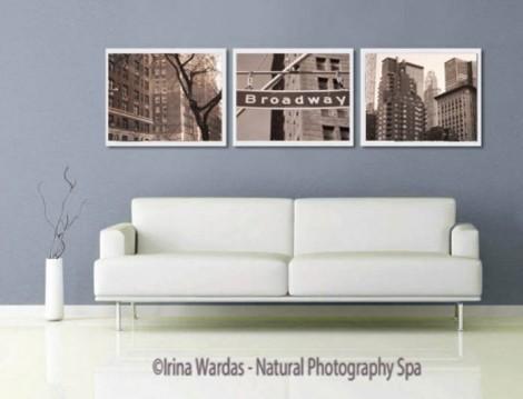 Set of 3 NYC prints