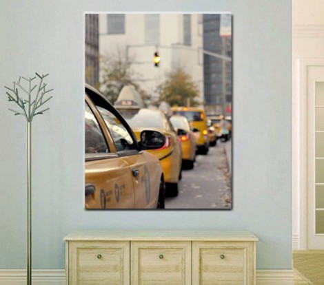 Taxi Cab Wall Art