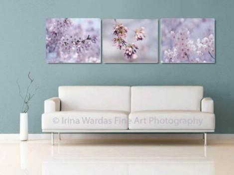 Set of 3 Cherry Blossom